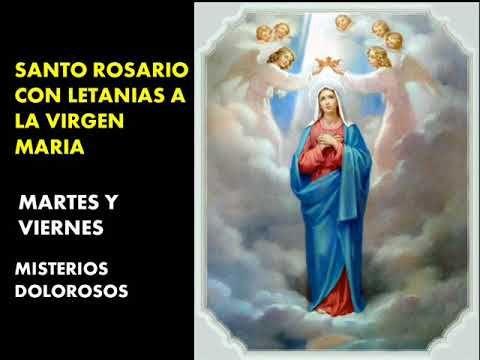 El Rincon de mi Espiritu: Santo Rosario con Letanías - Misterios Dolorosos -...