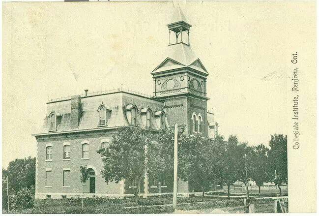Renfrew Collegiate, Renfrew, Ontario