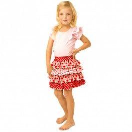 April Apples Skirt from Oobi