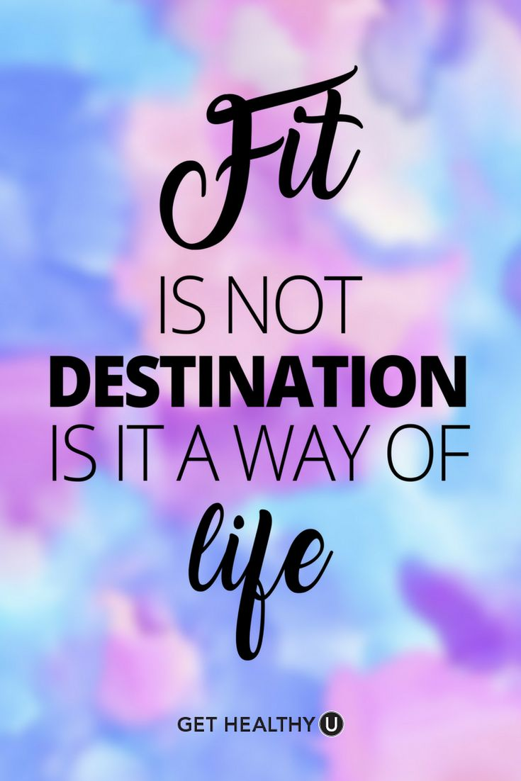 Inspiration is the key to fitness success! Visit us at Get Healthy U for workouts, meals, health advice and tons of INSPIRATION! We want you to reach your weight loss goals and become the fittest YOU you can be!