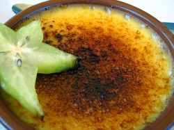 Creme Brulee Recipe  Creme Brulee is a very popular French Dessert that is made from Cream and Egg Yolks and has a hard caramelised sugar topping. It is a lovely desert with the contrasting palettes of the hard sugar topping and the yummy custard below. This is desserts that only the French can come up with.   Check out the step by step Creme Brulee Recipe with detailed instructions. I have also put up a lovely Creme Brulee Recipe Video if you prefer it live.    Image courtesy ajagendorf25…