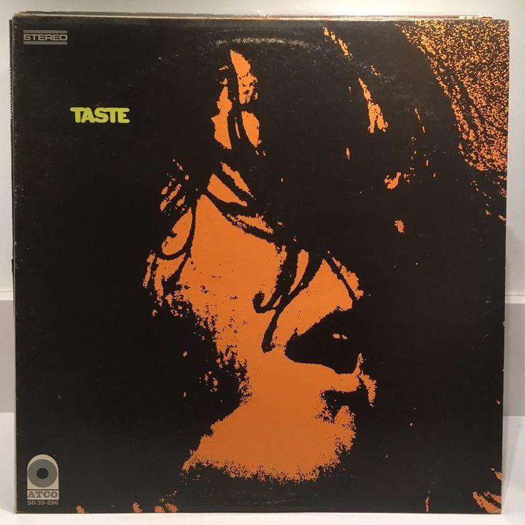 TASTE self titled LP 1969 Atco 33-296 ORIG US PRESS Rory Gallagher VG++ #BluesRockProgressiveArtRockRocknRoll