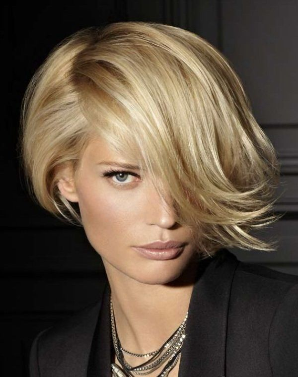Short Messy Hairstyles for Women | Hairstyles Haircuts for long faces The Best Short Layered Haircuts ...