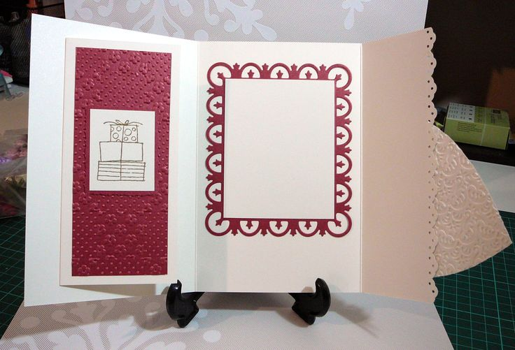 CARD - with money gift holder inside WEDDING CARDS 2 Pinterest ...