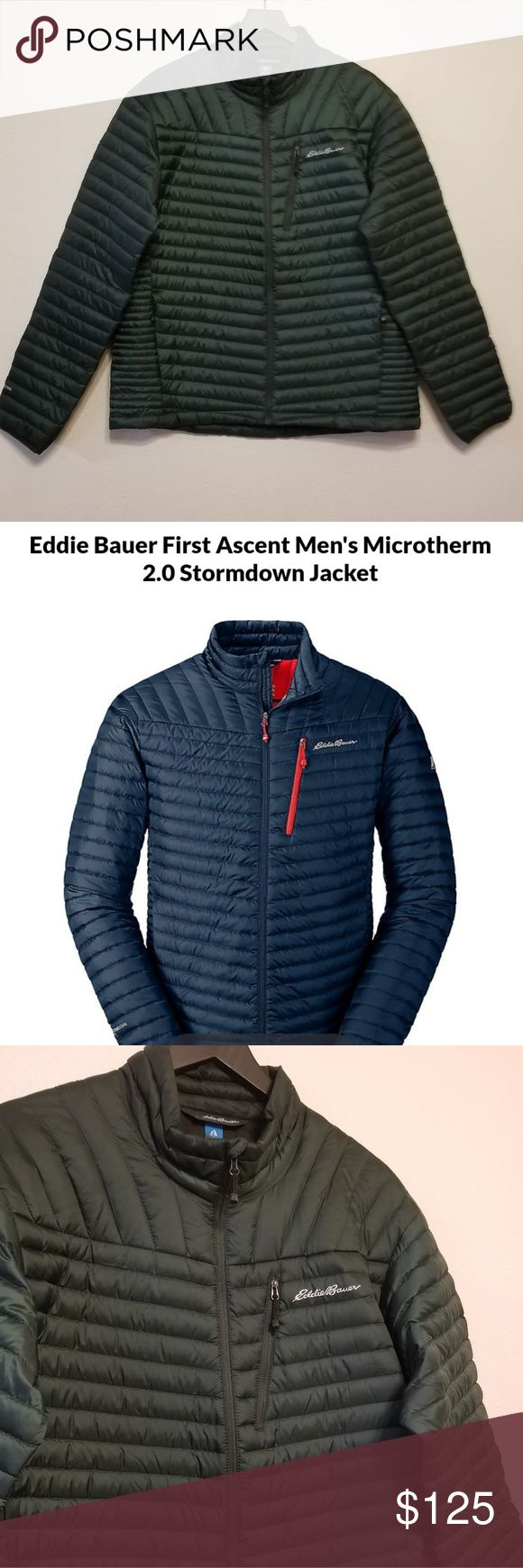 Eddie Bauer First Ascent Microtherm 2.0 Stormdown NWT