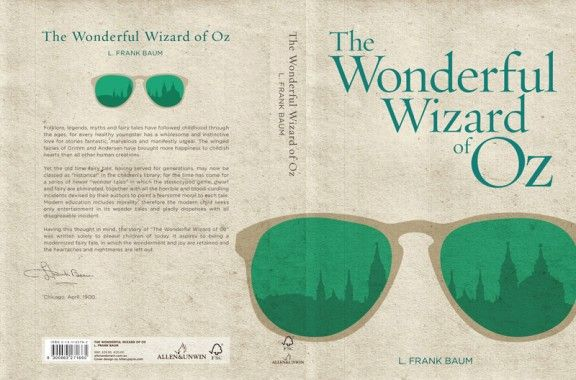 Re-Covered Books: The Wonderful Wizard of Oz by L. Frank Baum