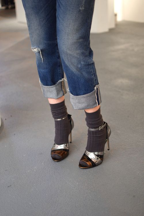 socks and heels done right
