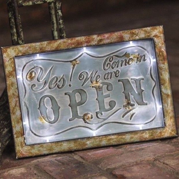 LED Open Sign | Open Sign | Open Signs | Vintage Open Sign