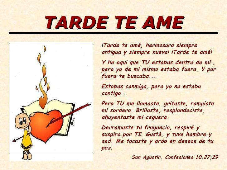 Resultado De Imagen Para Frases San Agustin Amor De Dios