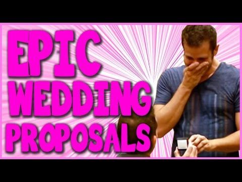 19 Epic Wedding Proposals That Will Make You Cry - YouTube