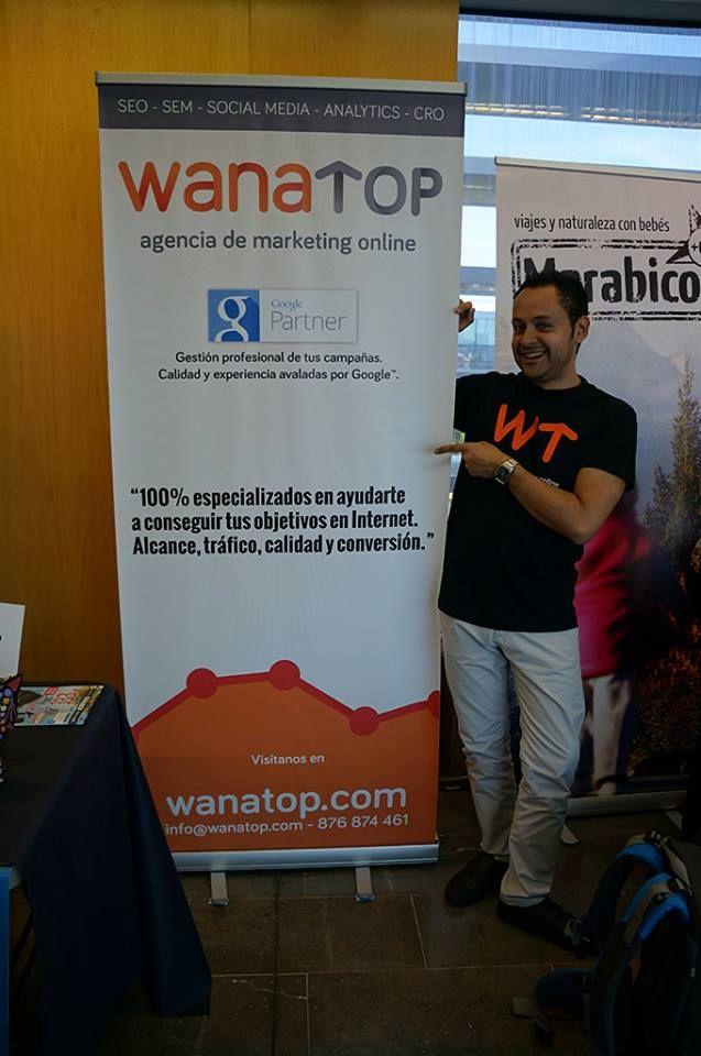 Carlos Pinzón en el stand de Wanatop en la #FTVWalqa