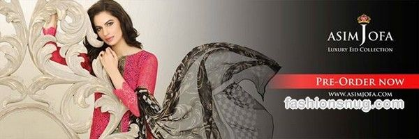 Asim Jofa Eid Collection 2015 With Prices