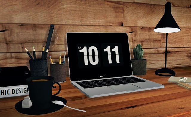 Sims 4 CC's - The Best: Apple Macbook Pro 2016 by MXIMS