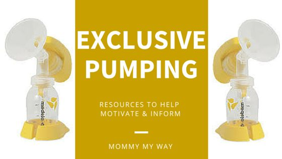 Exclusive pumping is also referred to as EPing. EPing is not always easy though. I had a ton of questions and no answers. Here are a few resources.