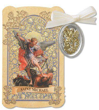 Catholic Gift Prayer Folder with Archangel Protector Patron Saint St Michael Tu Tone Charm Medal Pendant CB http://www.amazon.com/dp/B00AZLWZ5M/ref=cm_sw_r_pi_dp_EYBYwb1FRCKBM