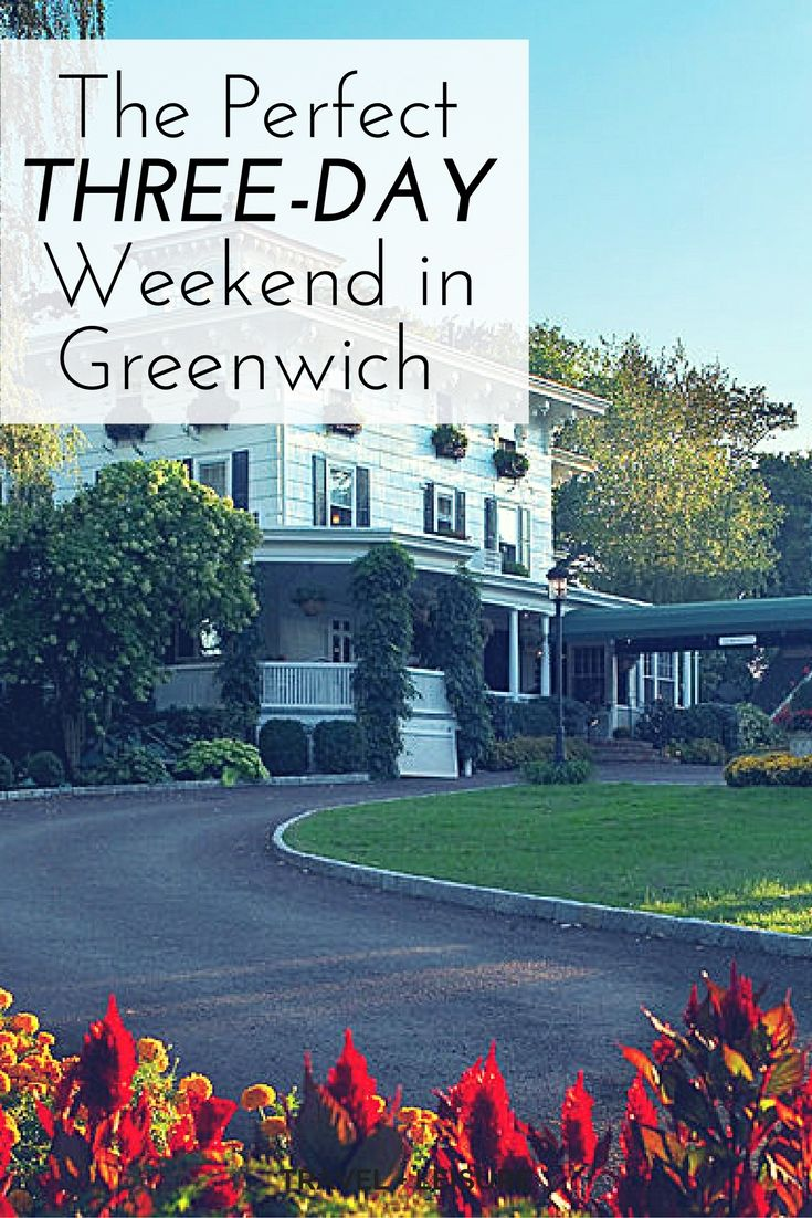 Just 40 minutes away from New York City lies the affluent and picturesque town of Greenwich, Connecticut, where there's as much to do, see, and eat as there is on Fifth Avenue—minus the hordes of tourists, honking taxis, and street peddlers.