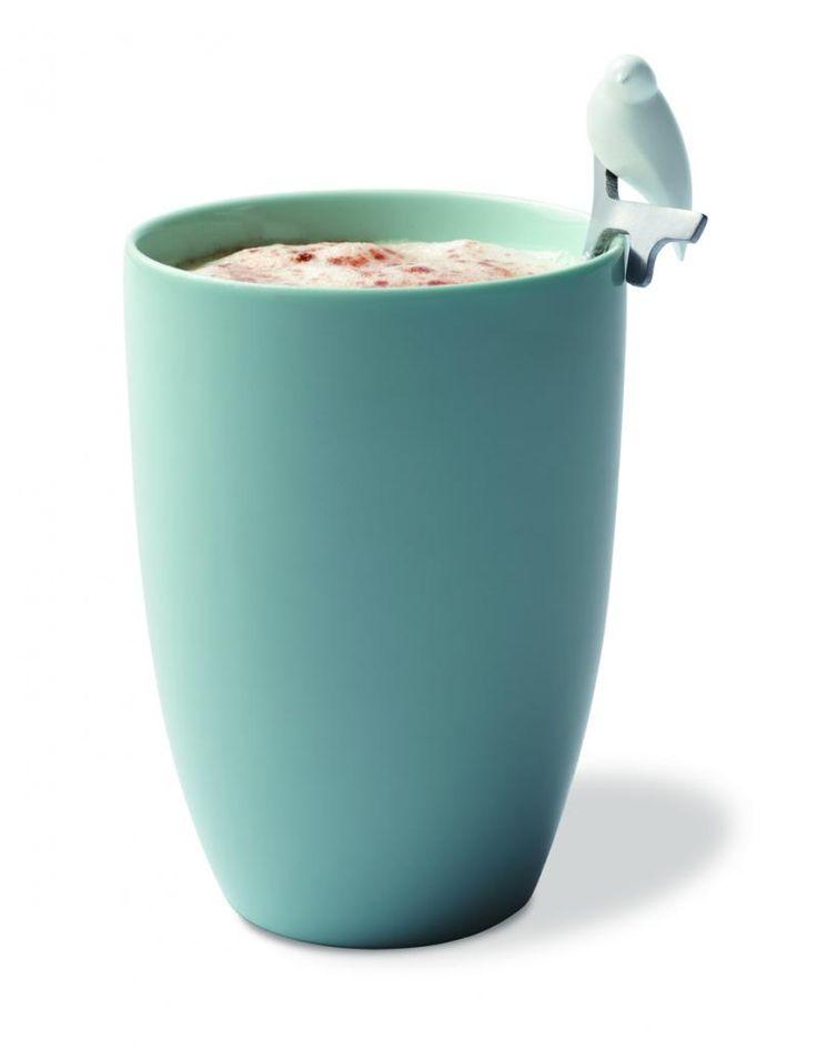 Zestaw 2 łyżeczek (mieszadełek) - srebrny - PO SELECTED - DECO Salon #gift #foreher #coffee #tea #kitchenaccessories #spoon