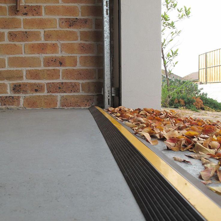 Door Dam Floor Threshold Seal In Black Yellow Garage Doors Garage Door Seal Garage Floor
