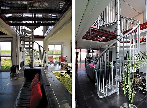 Container House With Luxury Living Spaces