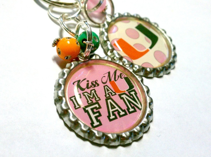 NEW University of Miami Hurricanes Canes Fan by TheSVCollection