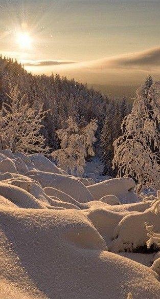 Winter in the Russian Urals • photo: Nikolaya Obukhova on Postomania