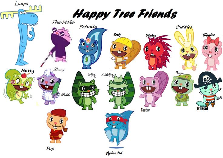 Happy Tree Friends anime shipping meme by TehEreminion on ...