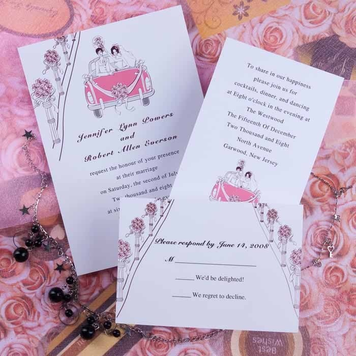 A Bunch Of Roses Wedding Invitations httpwwwaustylishinvitationscom