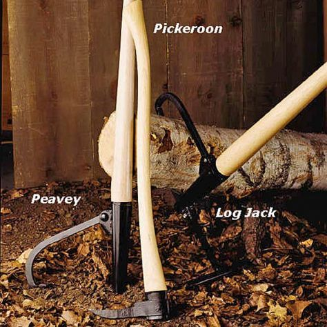 Professional Log Moving Tools by Garrett Wade