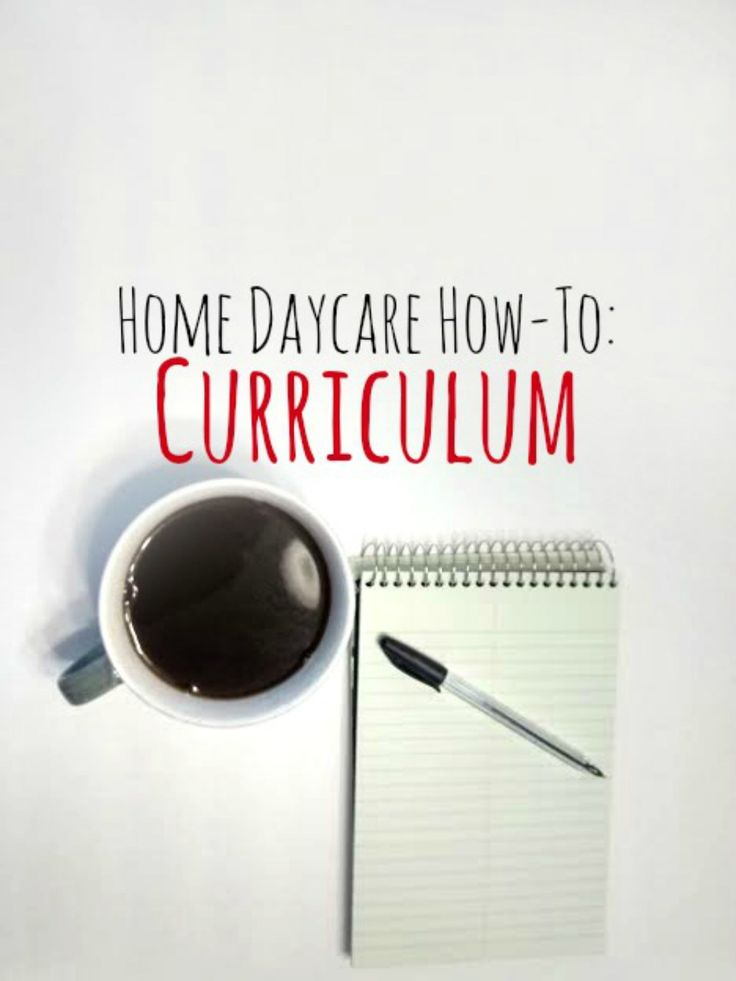 Home Daycare - Curriculum