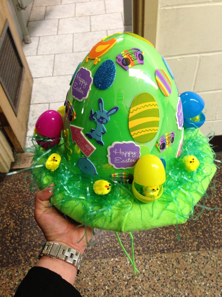 Easter hat for my baby boy!! #easter #family