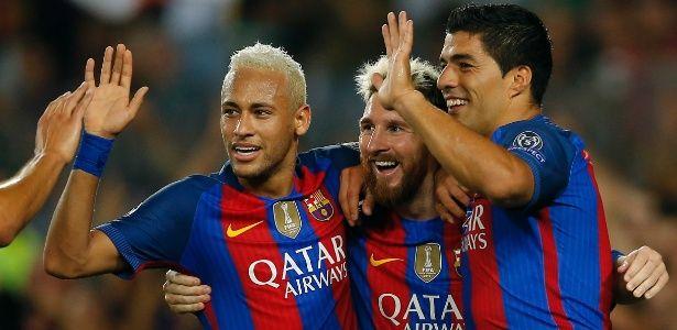 Com espetáculo de Messi e Neymar, Barcelona atropela Celtic na estreia