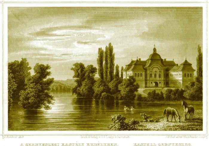Castelul Teleki din Gornești 1860