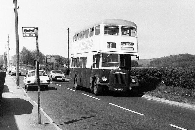 Wimblebury Road, Heath Hayes 1976