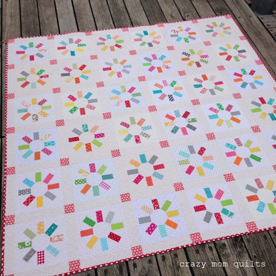 crazy mom quilts: the happy quilt