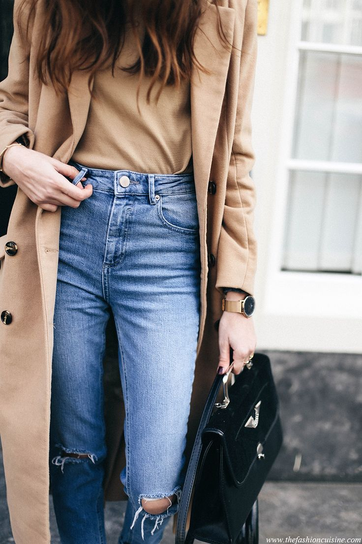 Where to find perfect high waisted ripped jeans.