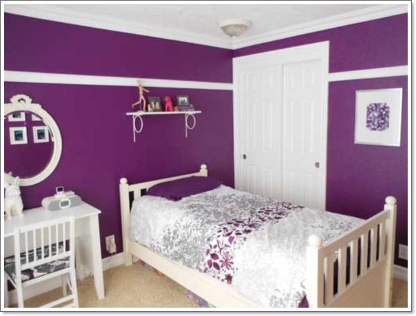 119 Best Color Purple Home Decor Images On Pinterest Bedroom