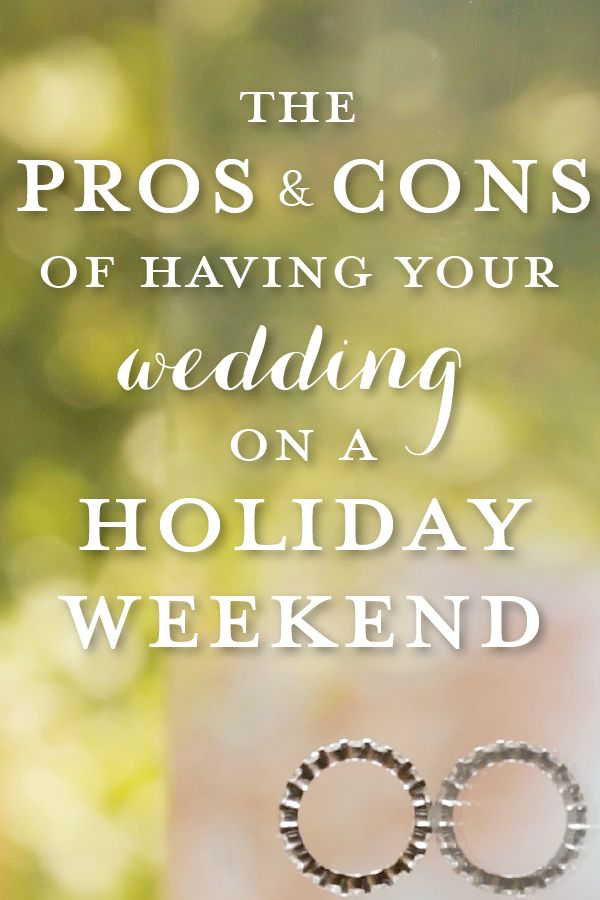 Thinking of having your wedding day on Labor Day Weekend 2016? Think again! #weddings #weddingtips #weddinginspiration http://nstpictures.com/should-i-have-a-holiday-weekend-wedding/