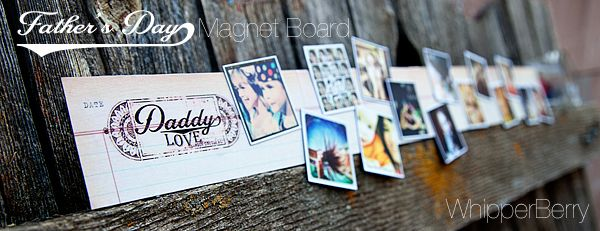 Fathers Day Magnetic Memo Board for Dad's office! #fathersday #giftideas #photography