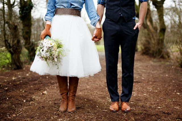 5 aparte, stoere en alternatieve trouwjurken | ThePerfectWedding.nl