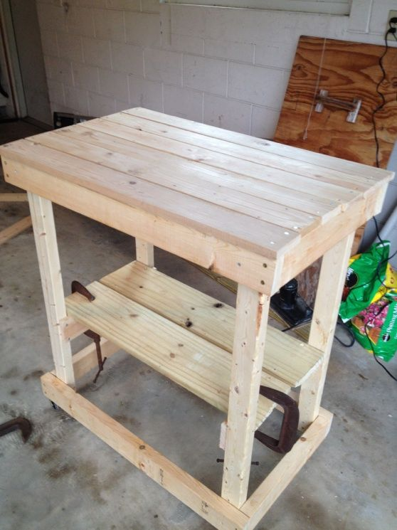 Make your own grilling table. My dh should do this