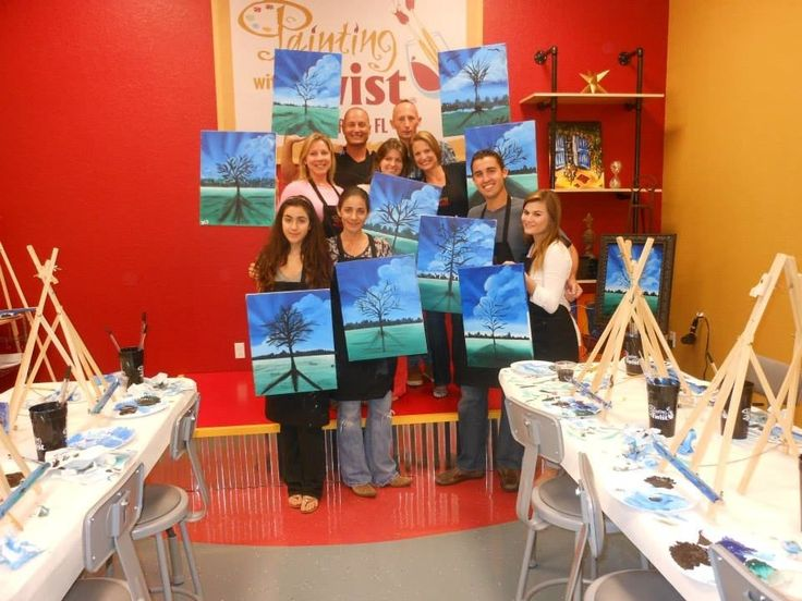 Painting With A Twist Divine Naples Business Directory 13500 Tamiami Trail FloridaArt SchoolTrailTwists