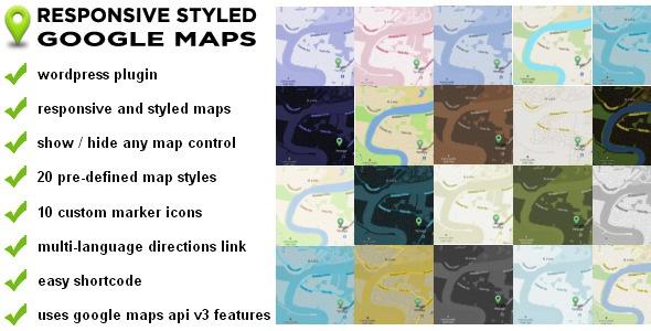http://codecanyon.net/item/responsive-styled-google-maps-wordpress-plugin/3909576