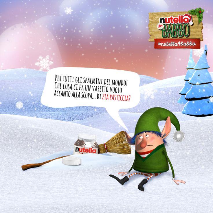 Elfo, sempre più teso, si dirige verso il suo laboratorio, quando all'improvviso BAM! inciampa in una scopa fuori posto… Continuate a seguire le indagini!