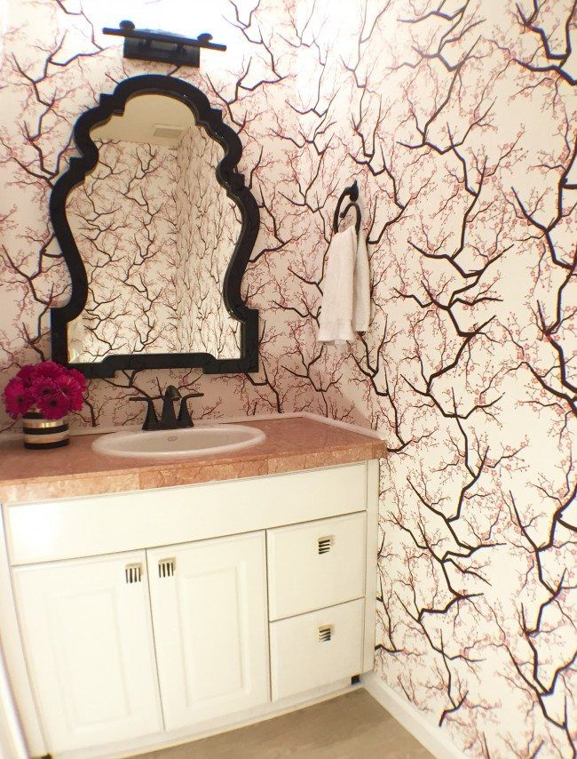 Perfect Powder Room Renovation Reveal Pictures Gallery