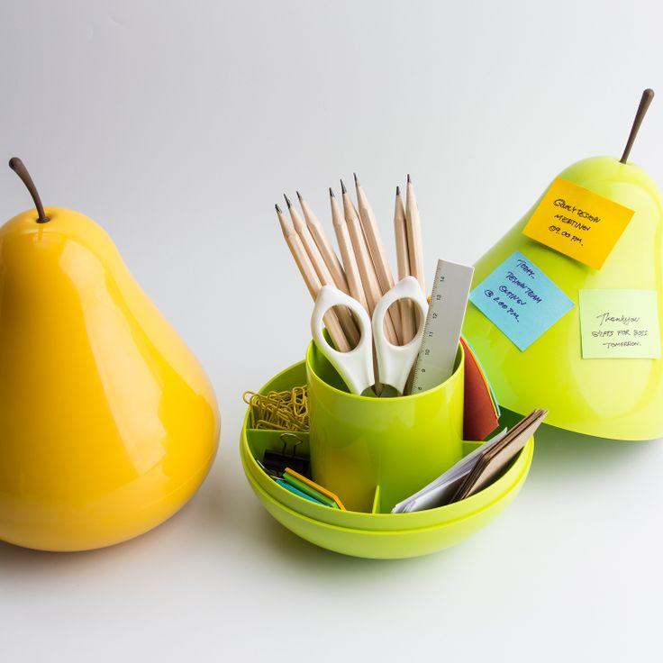 Aufbewahrung Pear Pod - QUALY Schale Birne design