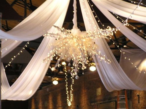 tulle and lights wedding decor tulle net the tulle and net network decoration im 8097