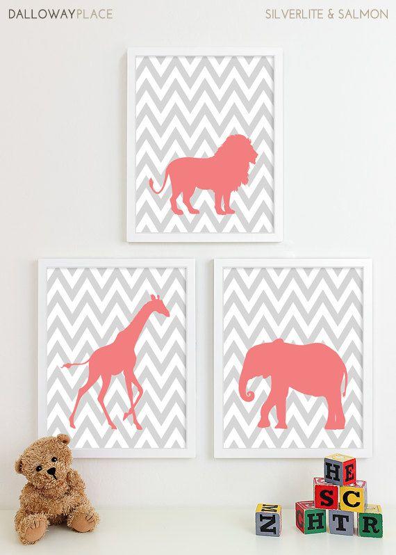 Baby Girl Nursery Art for Girls Room Decor Baby by DallowayKids