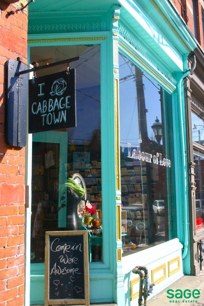 Colourful & unique stores in Cabbagetown, Toronto