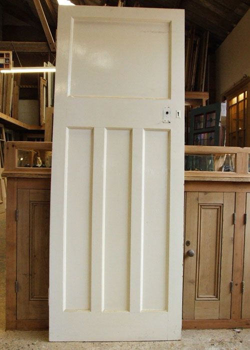 Antique Pine 1930's Internal Door