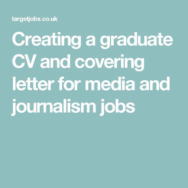 Job Application Letter Journalist Pinterest